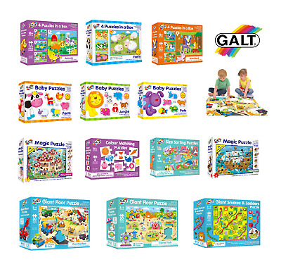 Galt Toys Children Jigsaw Puzzle Gaint Floor,Baby,Learning - FAST&FREE DELIVERY  • 7.95£