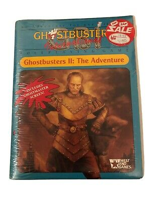 Ghostbusters 2 The Adventure Roleplaying Game 1989 West End Games • 40£