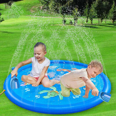 Large170CM Garden Water Pad Pool Outdoor Summer Sprinkle Splash Spray Gaming Mat • 15.49£