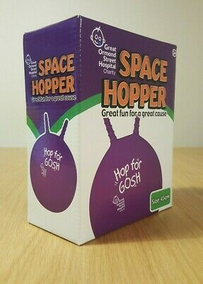 GOSH Retro Junior Childrens Purple Space Hopper 45cm - Boxed • 10.99£
