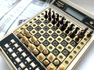 **Vintage Tandy Electronic Computerised Chess Game Box & Manuals** Fantastic • 45£