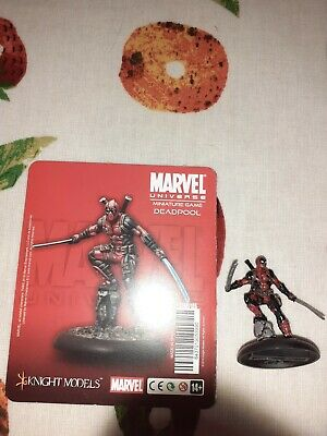 Deadpool Knight Models Marvel Miniature Game Painted • 33£