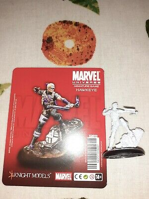 Hawkeye Knight Models Marvel Miniature Game Avengers Assembled • 33£