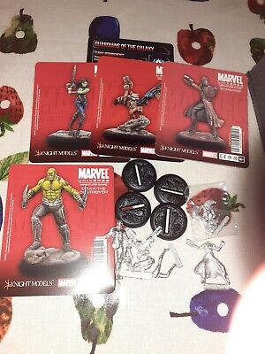 Guardians Of The Galaxy Knight Model Marvel Miniature Game • 53£