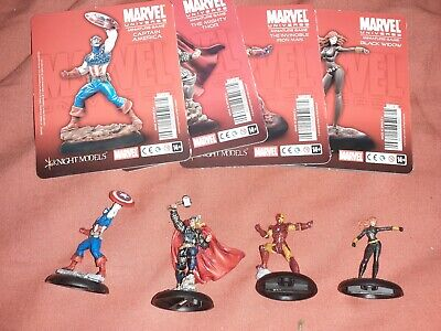 Avengers Knight Models Marvel Miniature Game Painted Iron Man Thor • 53£
