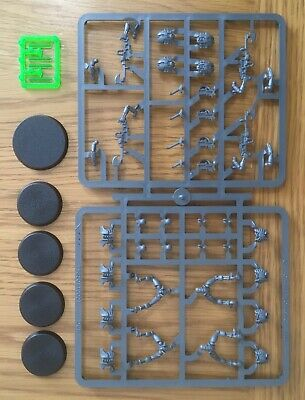 Necron Warriors & Scarabs (4 Warriors, 1 Set Of Scarabs) - New On Sprue • 15.99£