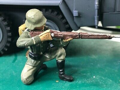 Unbranded Could Be Elastolin  Soldier 1/24  / 70 Mm Original Condition Ref 808 • 42.50£