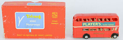 Triang Minic Motorway M1549 Bus Excellent Runner Excellent Boxed • 60£