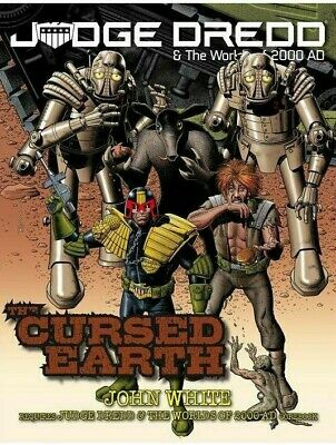 Judge Dredd & The Worlds Of 2000AD Tabletop RPG Cursed Earth Roleplaying Game • 24.99£