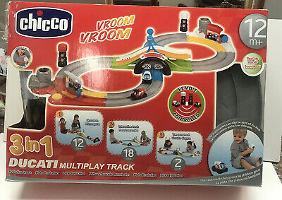 Chicco Ducati 3in1 Multiplay Race Track In Box • 14.95£
