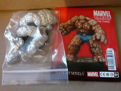 Knight Models Marvel Miniature Game The Thing RARE OOP Fantastic Four BNW/OP • 45£