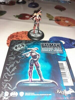 Knight Models Batman Miniature Arkham City Harley Quinn Painted • 15£