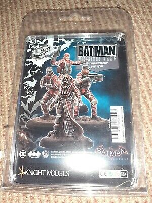 Knight Models Batman Miniature Game Scarecrow Militia Arkham Knight DC • 27£