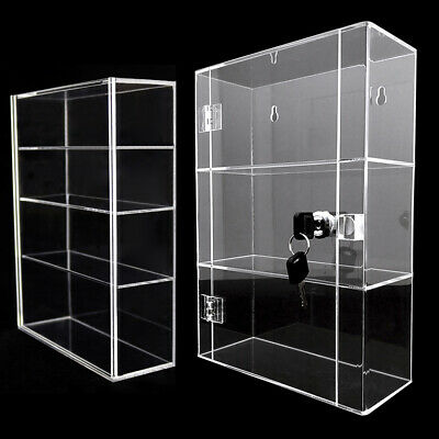 Acrylic Display Box Clear Storage Stand Organizer Toy Dustproof Protection  • 14.99£