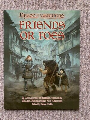 Dragon Warriors RPG: Friends Or Foes (Softcover) - Magnum Opus Press • 24.99£