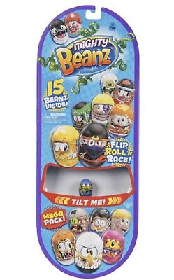 Mighty Beanz 15 Bean Mega Collectors Pack Series 1 • 15.50£