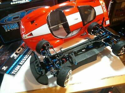 RC ASSOCIATED TC7.1 4WD FERRARI FXX..Carbon.vgc.With Ins.and Box.. • 199.99£