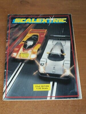 Scalextric..catalogue 32nd  Edition 1991, In Very Good Condition. • 7.95£