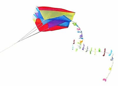 Parafoil Pocket Kite Kids Game Play Entertainment, In A Handy Pouch Bag • 4.49£