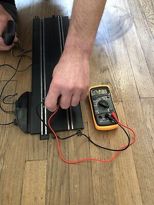 SCALEXTRIC  23  POWER START ,2 X CONTROLLER , Power Lead And Track& Some Barrier • 27.50£