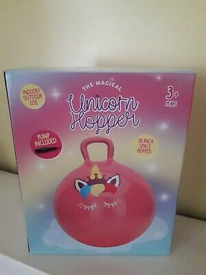 The Magical Unicorn Space Hopper  - Pump Included  • 8.99£