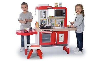 Smoby Red Tefal Gourmet Kitchen Large Play Electronic Cook Fun Kids 50 + Pieces • 139.99£
