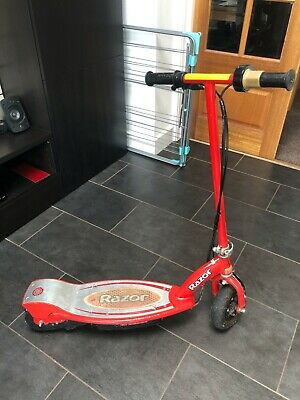 Razor E100 Children's Electric Scooter - In RED With Charger. • 21£