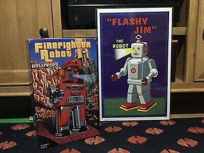 Firefighter Robot By Comet Toys • 150£