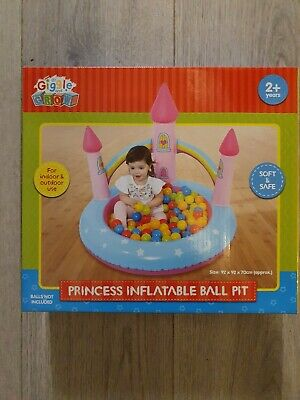 Brand New Inflatable Princess Ball Pool Indoor Or Outdoor Use • 19.99£