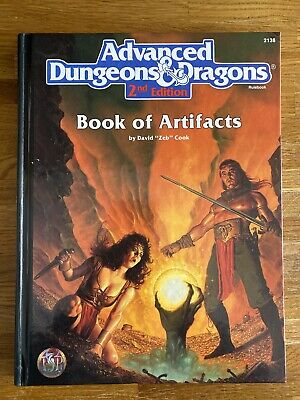 Advanced Dungeons And Dragons 2nd Edition Book Of Artifacts #2138 • 40£