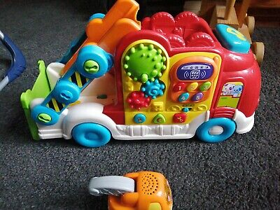 Toot Toot Car Vehicle Transporter With Tow Truck • 10£