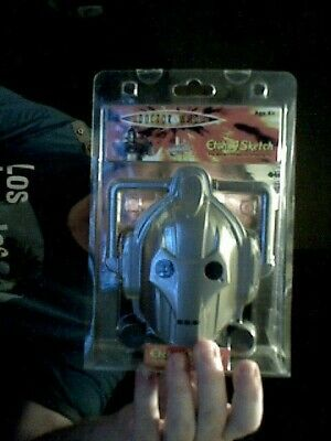 Doctor Who Cyberman Etch Sketch Toy Art Doodle Birthday Christmas  Charity • 15£