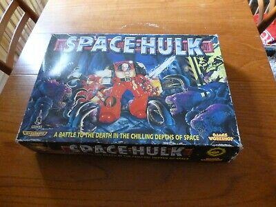 SPACE HULK Board Game 2nd Edition (1996) Games Workshop • 32£