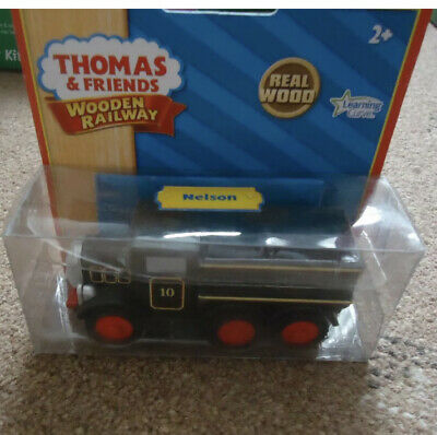 **BRAND NEW IN BOX** WOODEN THOMAS NELSON TRAIN **EXTREMELY RARE** (Brio Etc) • 17£