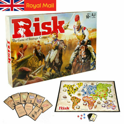 Risk Board Game  Strategic Fun Family Party Adult Games Gift • 20.99£