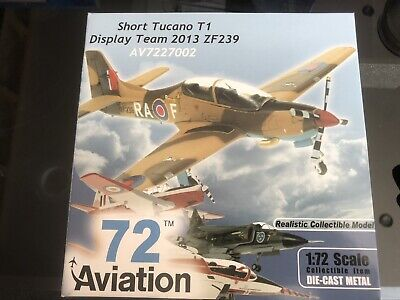 Aviation72 Av7227002 Raf Display Team 2013 Short Tucano Zf239 • 25£