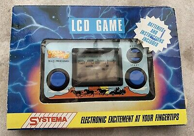 Systema Back To The Future III 3 1990 LCD Electronic Game • 41£