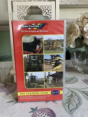 Britains Farm Point Of Sale Vhs Promotional  Video Rare!! • 34.99£