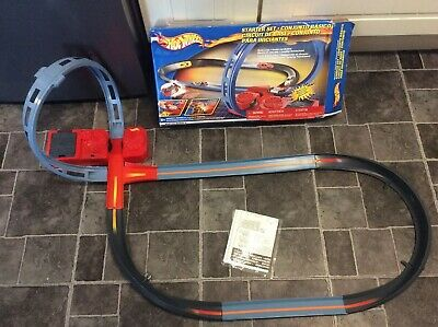 Hot Wheels Starter Set (figure Of 8) Track Set With Box And Manual • 12.50£