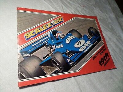 Scalextric 1978,19th Edition Catalogue-tidy • 5£