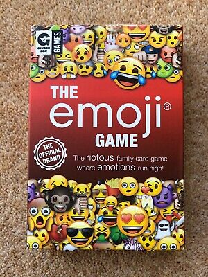 The Emoji Game New 3-6 Players Age 8+ • 5£