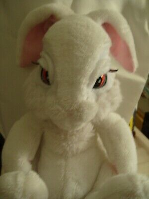 Really Cute Moving,snoozing Animated White Rabbit Toy 13  Tall • 16£