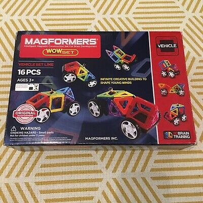 Magnaformer Vehicle Car Complete With Box • 6.50£