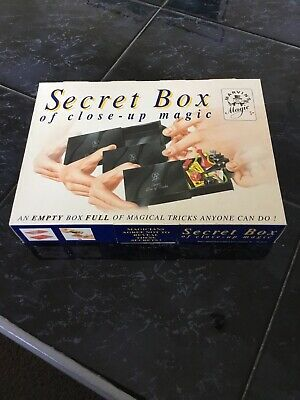 Marvin's Magic Vintage Magic Set-secret Box Of Close Up Magic - Unplayed With • 3.40£