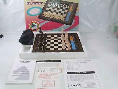 Systema Jupiter 72 Level Chess Computer Boxed With Instructions Model ST-932 • 29.99£