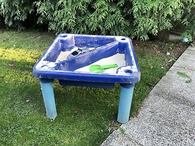 Childrens Sand And Water Table/sand Pit/ Race Track, Play Plastic • 10£