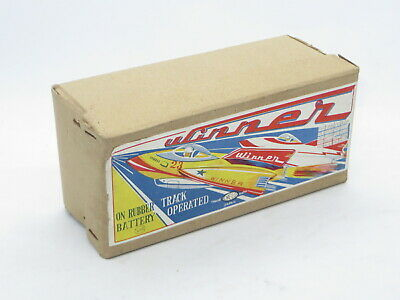 Vintage EMPTY BOX For Tinplate Toy EXELO JAPAN WINNER SPACESHIP BATTERY OPERATED • 49.99£