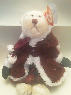 Ty  Bears . Mrs Santa Bear *under The Mistletoe  * With Tags  • 2.99£