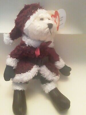 Ty Attic Treasures Collection. Santabear *he Sees You When Your Sleeping * Tags • 2.99£