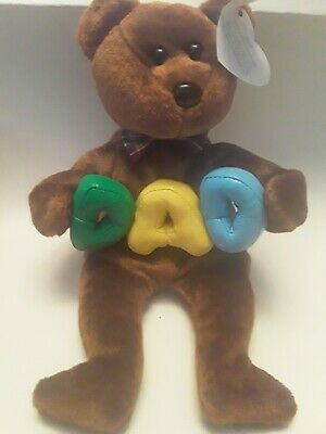 Ty  Beanie Babies. Dad  Date Of Birth 21/06/2004 With Tags.   • 2.99£